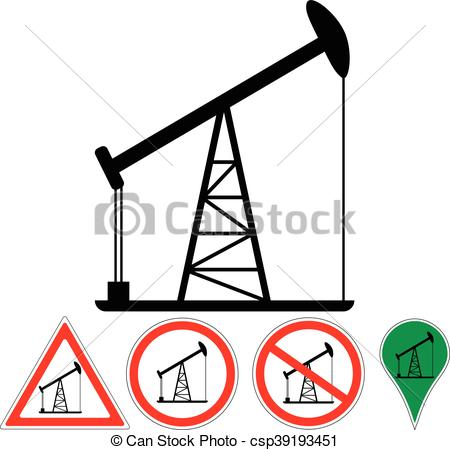 450x450 The Oil Rig, Vector Signs Of The Oil Rig Clipart Vector