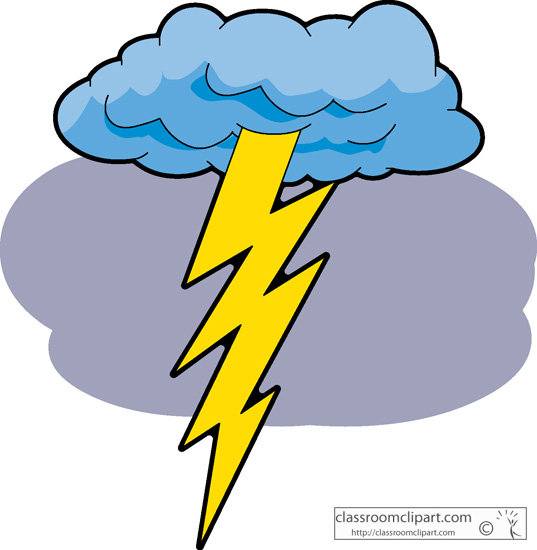 537x550 Collection Of Lightning And Thunder Clipart High Quality