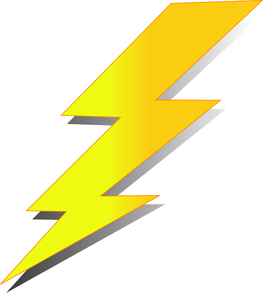 546x597 Collection Of Thunder Clipart Png High Quality, Free