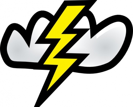 425x342 Free Download Of Thunder Vector Graphics And Illustrations
