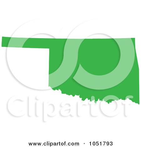 450x470 Royalty Free Vector Clip Art Illustration Of A Green Silhouetted