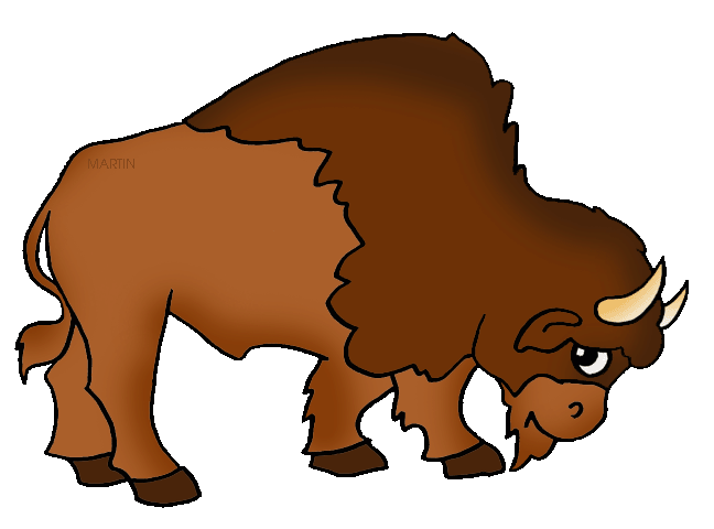 648x480 United States Clip Art By Phillip Martin, State Animal Of Oklahoma