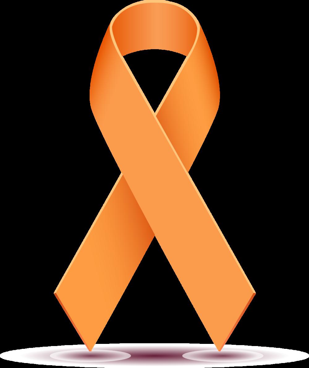 1000x1190 Wondrous Orange Cancer Ribbon Image Majestic Clip Art Clipart