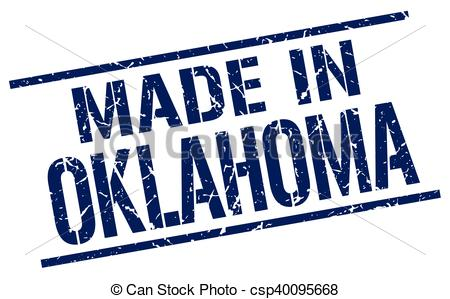450x299 Made In Oklahoma Stamp Clip Art Vector