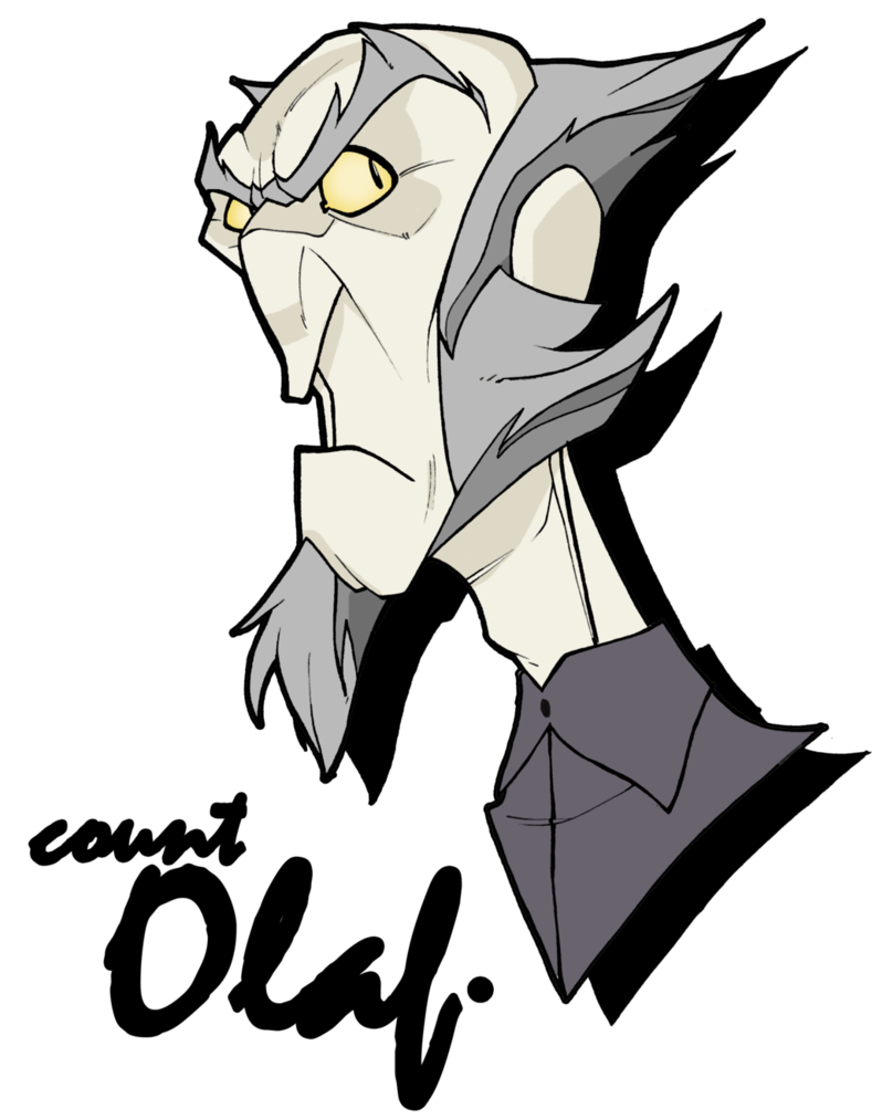 789x1012 Count Olaf By Mrgreenlight