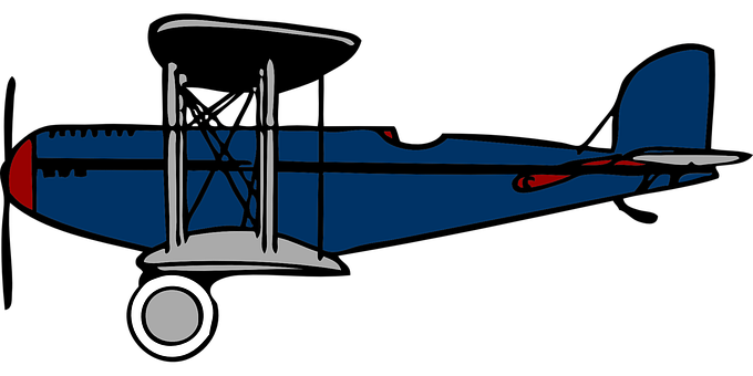 680x340 Flying Clipart Old Plane