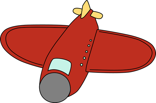550x364 Image Of Vintage Airplane Clipart