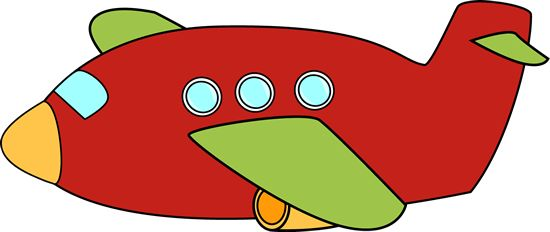 550x232 Image Of Vintage Airplane Clipart