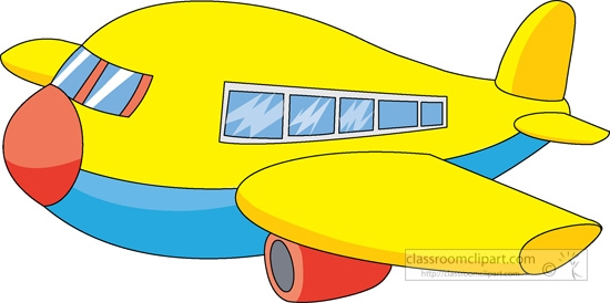 550x274 Propel Plane Clip Art At Clker Com Vector Online Yellow Airplane