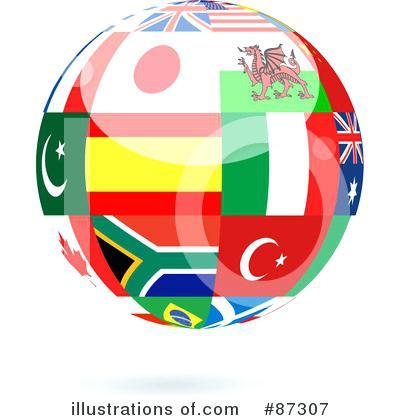 400x420 World Globe Clip Art Royalty Free World Globe Illustration By Old