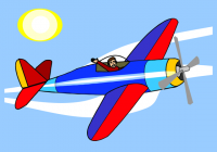 200x140 Airplane Clipart Free Vintage Airplane Clip Art Free Clip Art