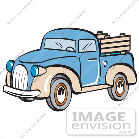 450x450 Old Pickup Truck Clipart Red Old Retro Car Pickup Side View