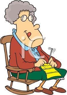 236x335 Royalty Free Clipart Image Of An Elderly Couple Books Worth