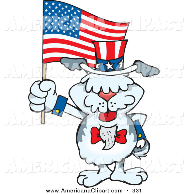 600x620 Americana Vector Cartoon Clip Art Of A Patriotic Uncle Sam