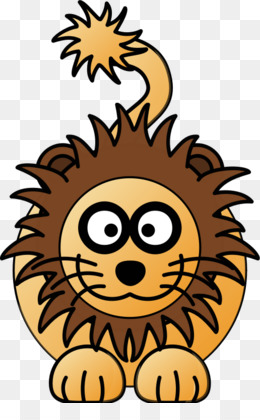 260x420 Cartoon Lion Png And Psd Free Download