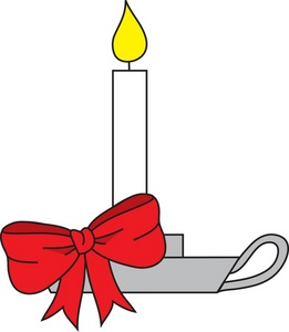 261x300 Free Candle Clipart Image