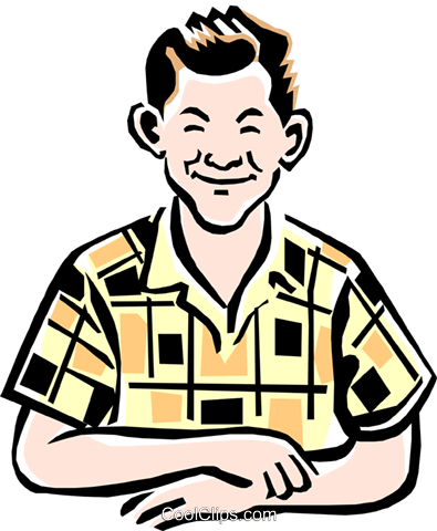 395x480 Old Fashioned Man Royalty Free Vector Clip Art Illustration