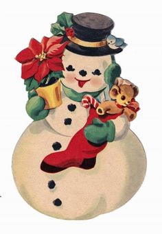236x341 Snowman Clipart Old Fashioned