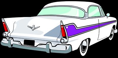 400x198 Blue Car Clipart Old Fashioned Car