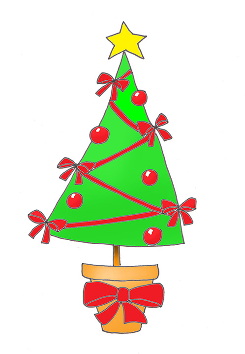 498x719 Christmas Tree Clip Art