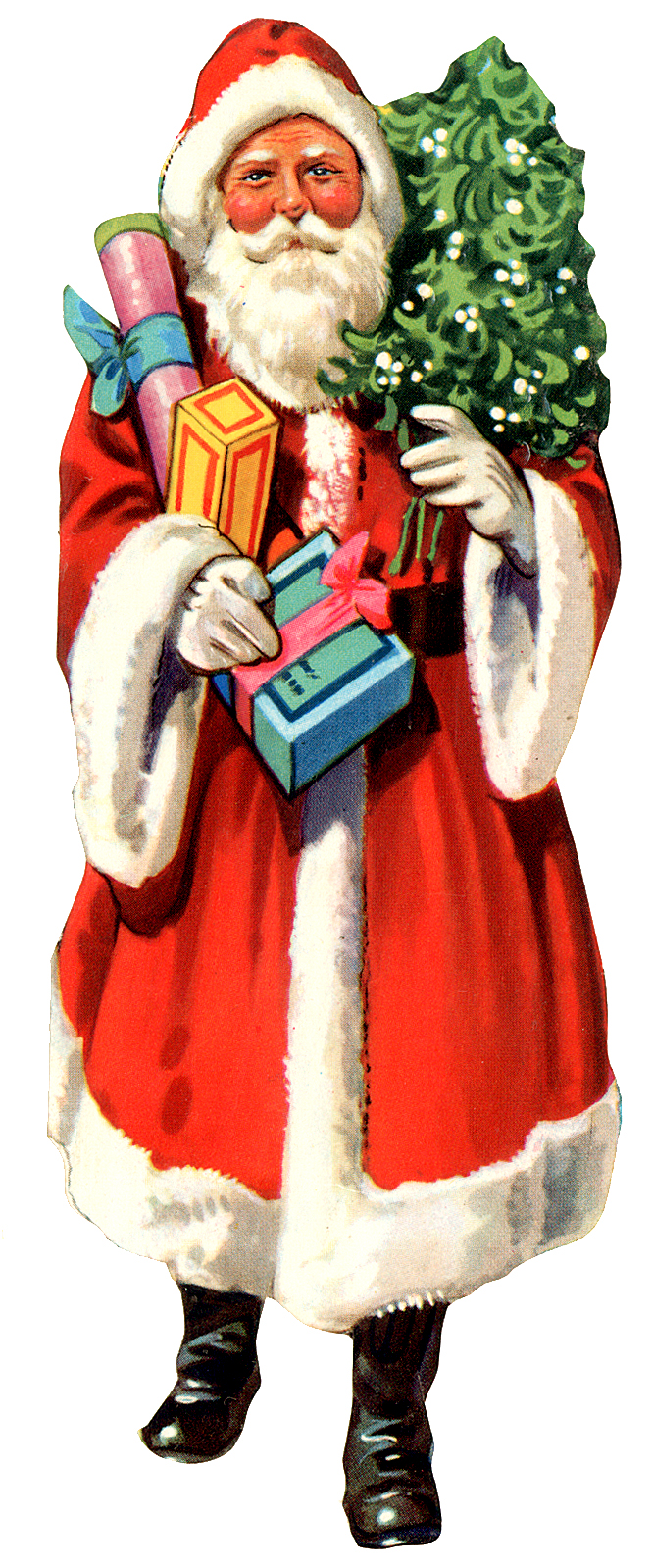 666x1599 Clipart Of Old Fashioned Santa Claus Amp Clip Art Of Old Fashioned