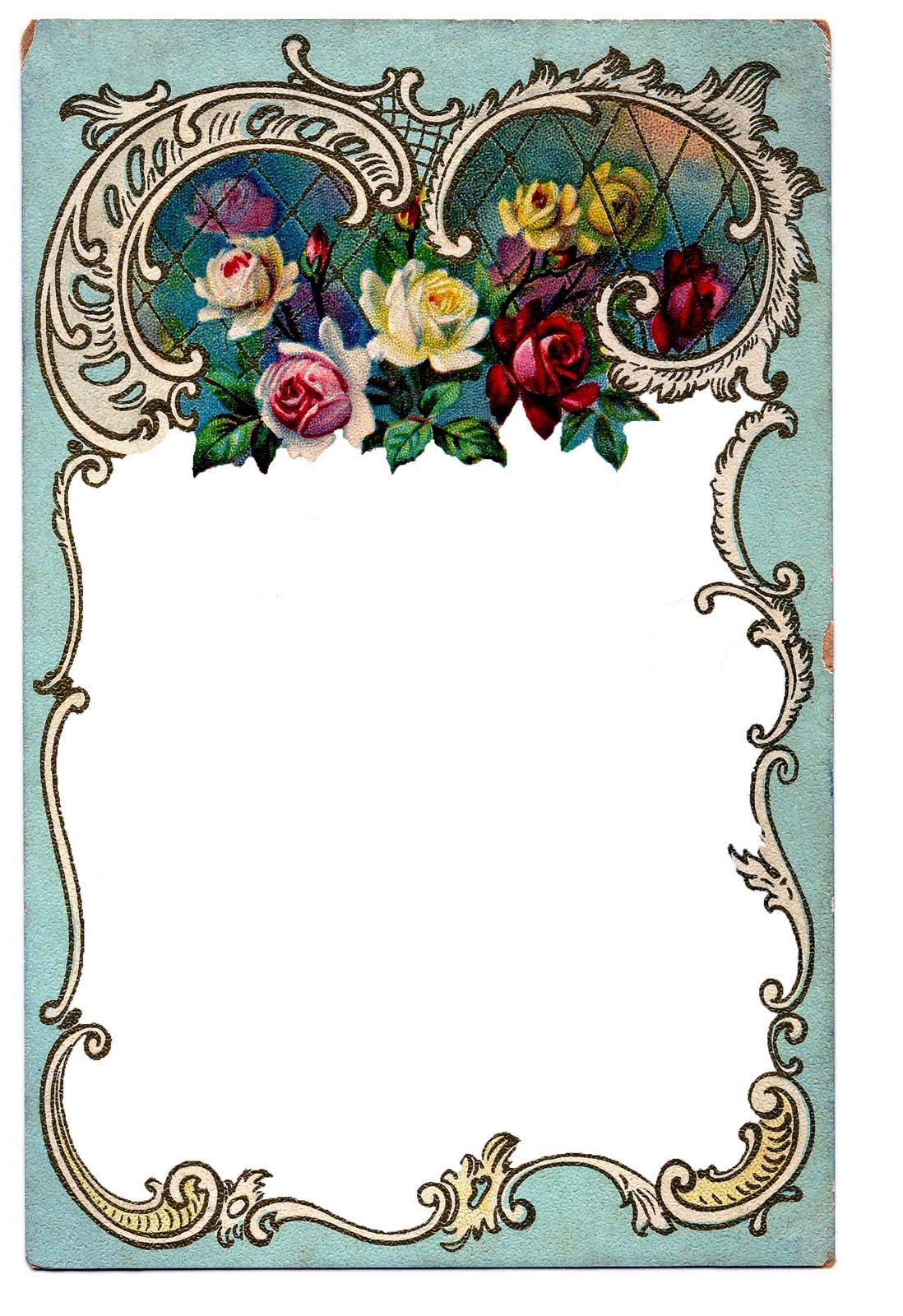 1098x1600 Victorian Clip Art