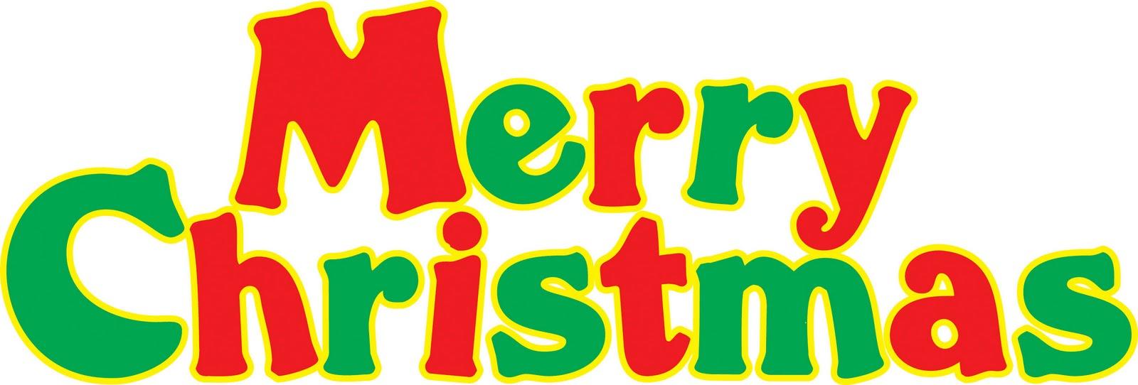 1600x542 Free Vintage Merry Christmas Clip Art