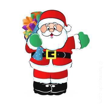350x350 Printable Christmas Clipart