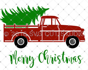 340x270 Collection Of Old Truck With Christmas Tree Clipart High