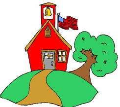 245x217 Clipart House School