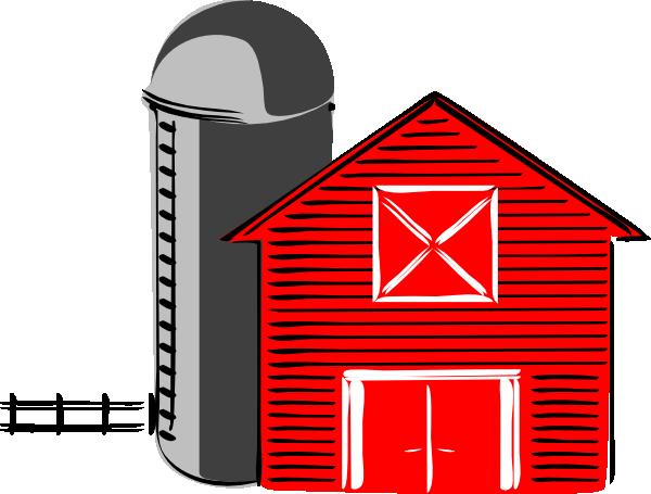 600x455 Old House Clipart Barn