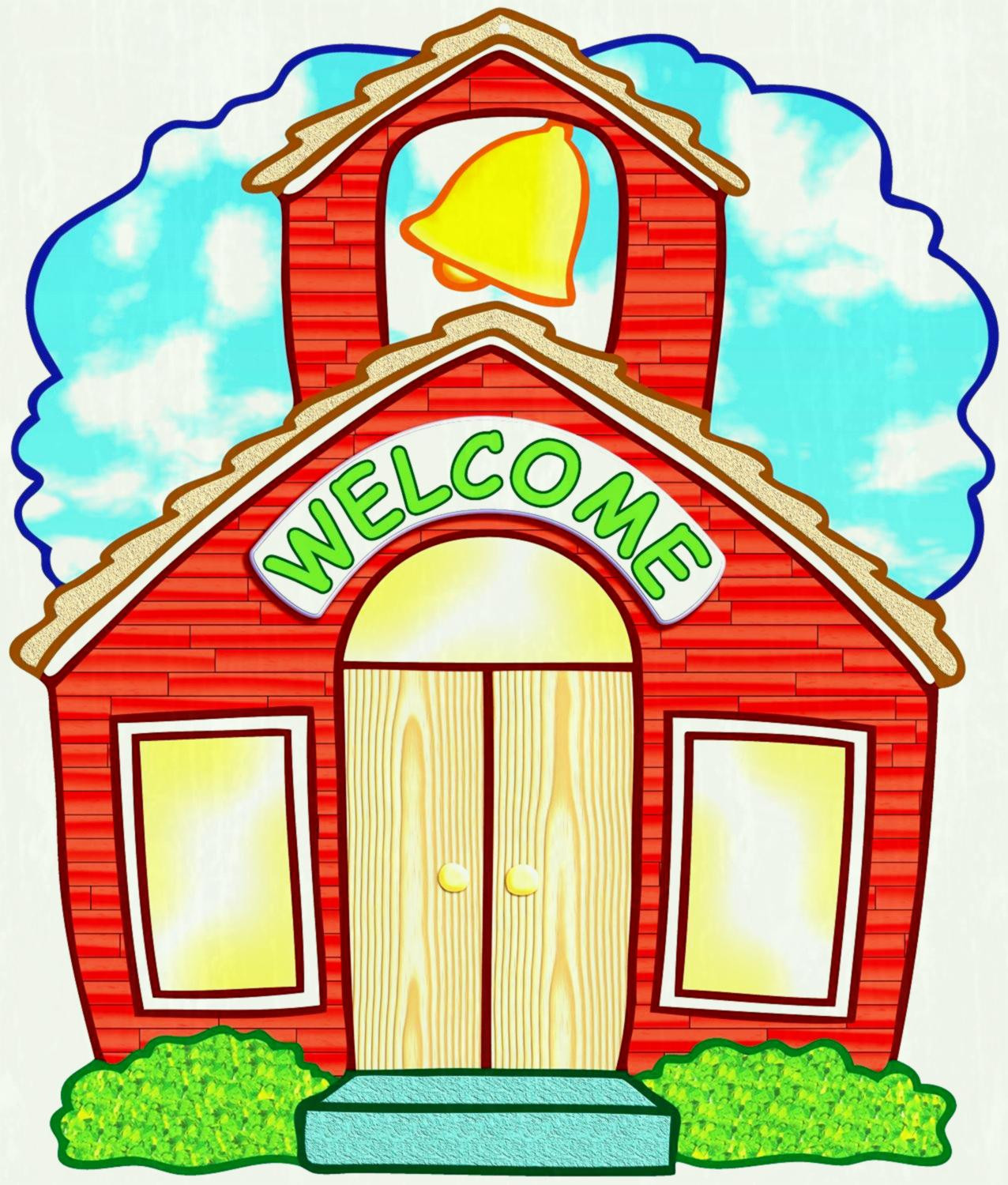 1276x1500 Old School House Clipart Transitionsfv