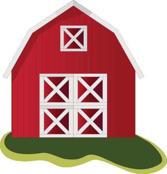 570x596 Farm House Clipart Clipartlook