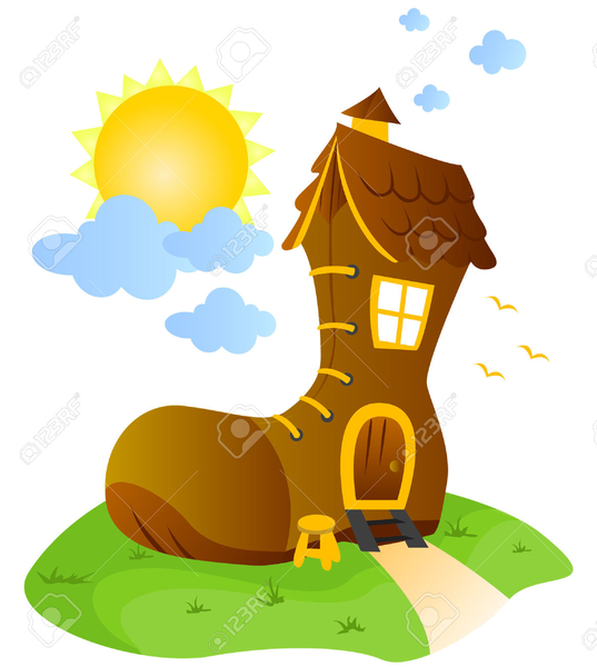 537x600 Clipart House Old Free Images
