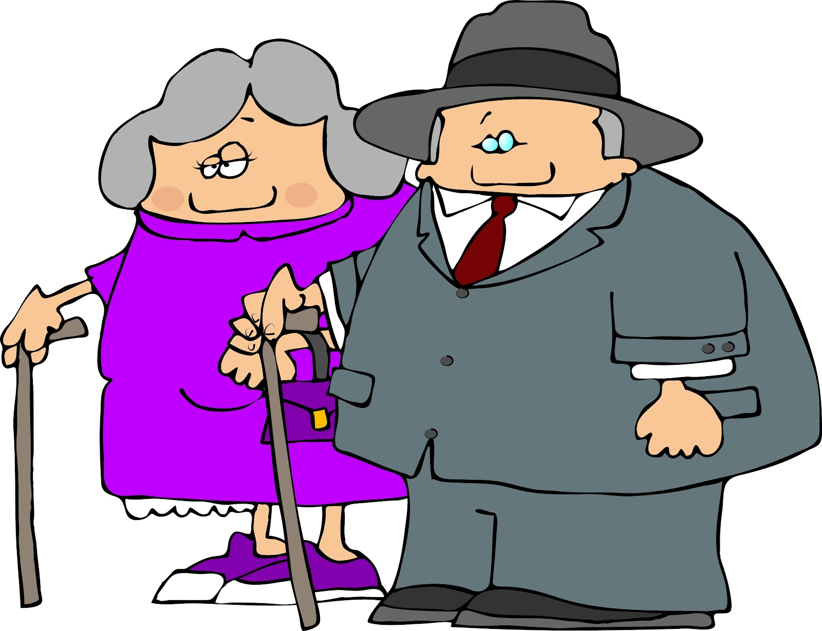 Old Lady Clipart