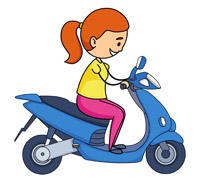 210x183 Clipart Girl On Motorcycle Amazon Com Rider Cycle Old Lady Biker