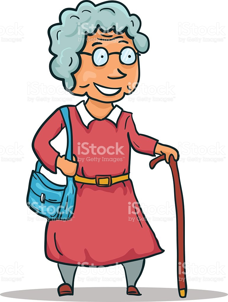 771x1024 Old Lady Cartoons Image Group