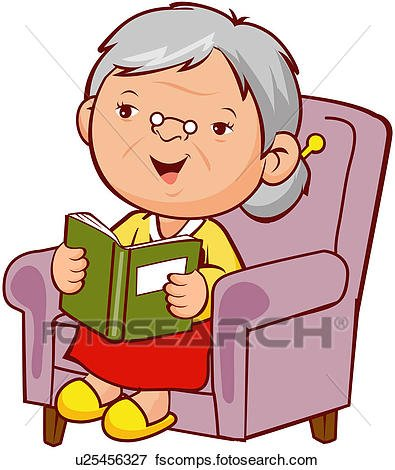 395x470 Awesome Old People Clipart