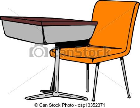 450x346 Old School Desk Clipart