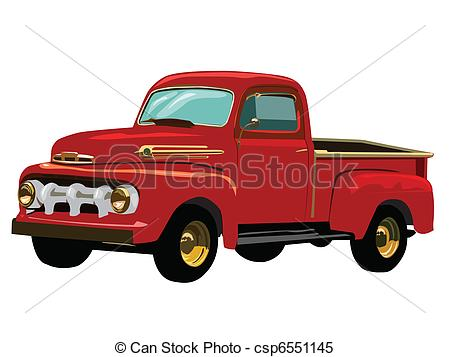450x357 Old Truck Clip Art Vintage Truck Illustrations And Stock Art 5101