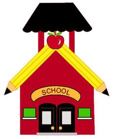 236x282 Red School House Clip Art Old School House Clipart 5