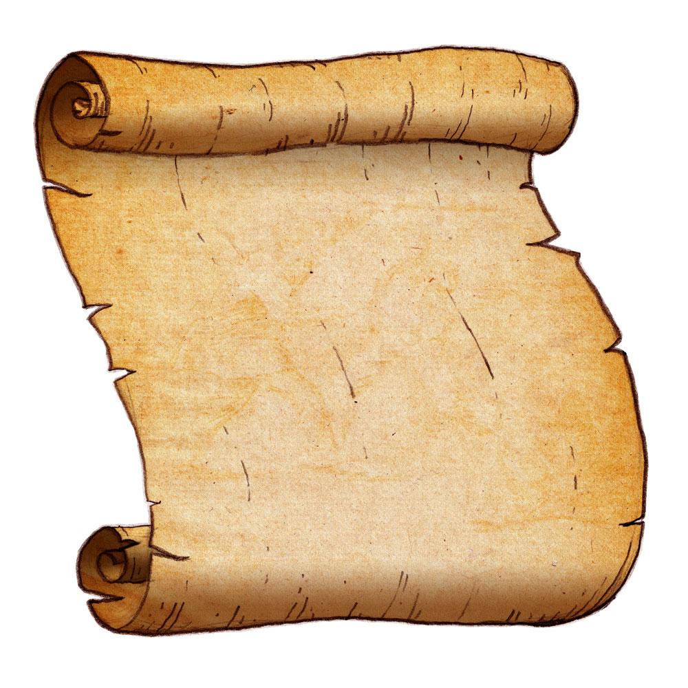 1000x1000 Scroll Clipart