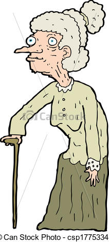 212x470 Old Woman Cartoon Clipart Lady Pictures Free Download Clip Art