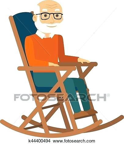 406x470 Rocking Chair Clip Art Old Lady In Rocking Chair Clipart