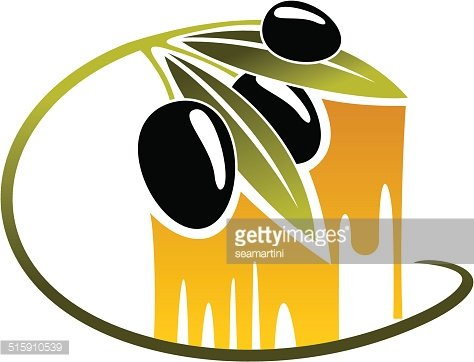 474x362 Olives With Golden Dripping Olive Oil Premium Clipart