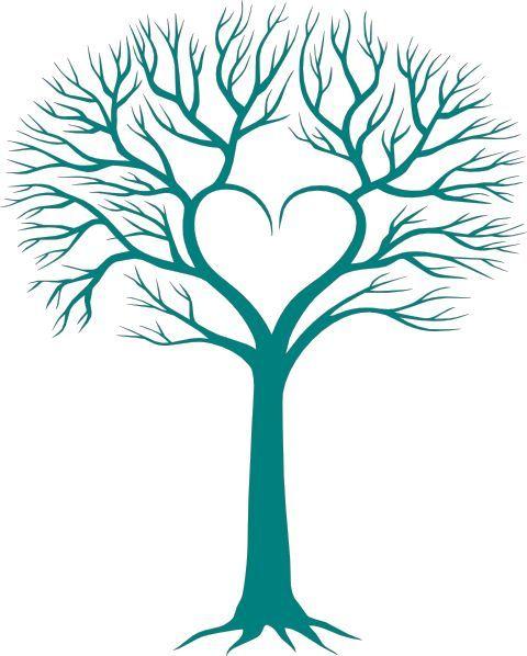 480x598 Family Tree With Heart Clip Art Short Graphics
