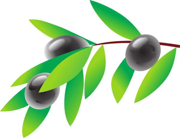 600x459 Free Olive Clipart Image