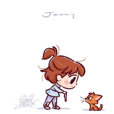480x480 Jenny Amp Oliver Anime Penny Bolt