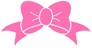 297x156 Hot Pink Bow Clip Art