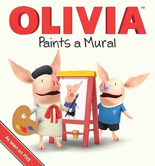 318x340 Olivia Paints A Mural By Ian Falconer